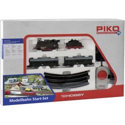 Potniški vlak s parno lokomotivo Piko, 1.100 x 880 mm, vel.:H0, 57110, osnovni komplet Piko H0