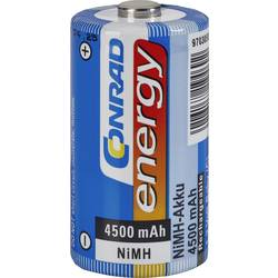Akumulatorska baterija tipa C (Baby) NiMH Conrad energy HR14 4500 mAh 1.2 V 1 kos