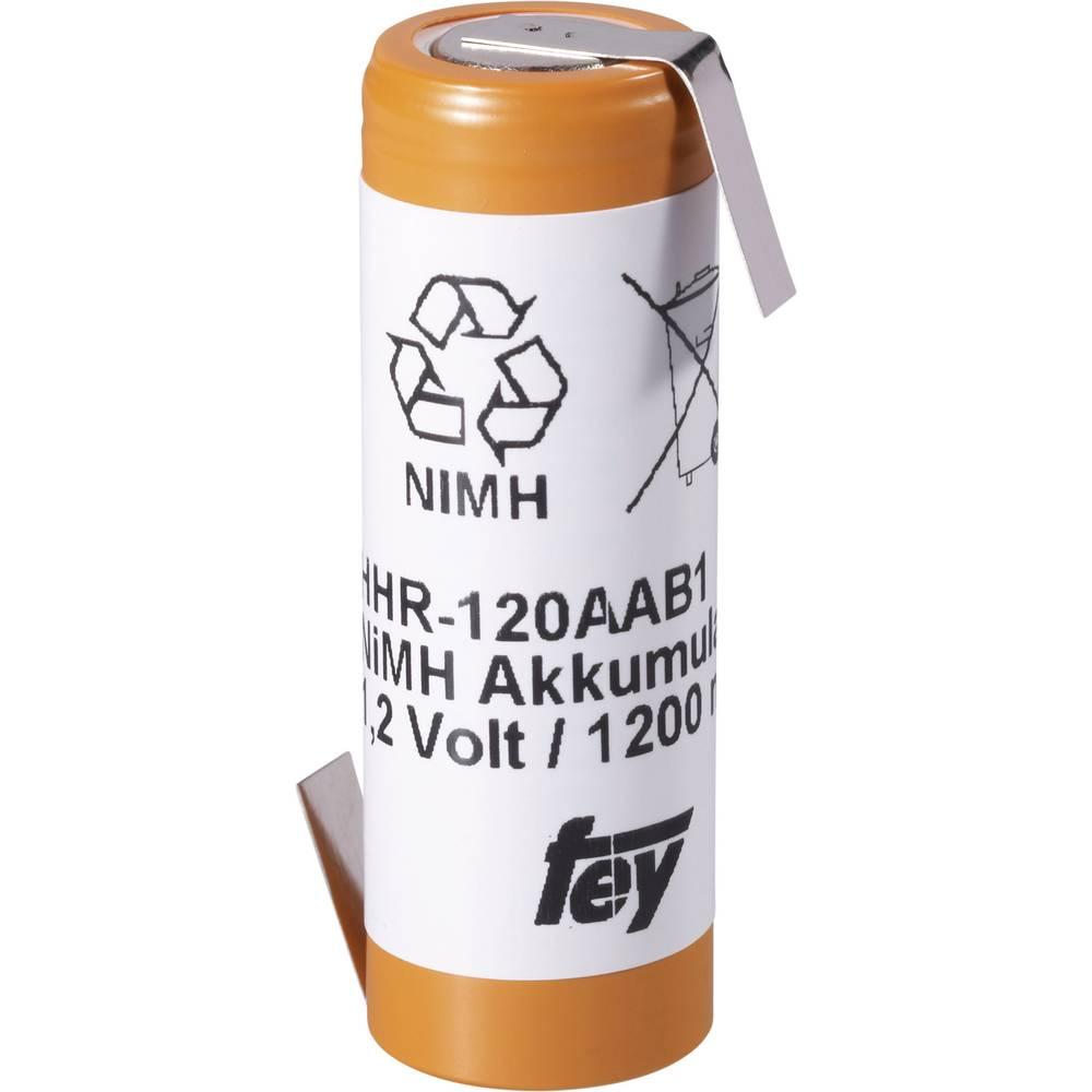 NiMH akumulator Panasonic 4/5 AA Z-spajkalni priključek, HHH-120AA-1Z 1.2 V 1200 mAh (Ø x V) 14.5 mm x 43 mm
