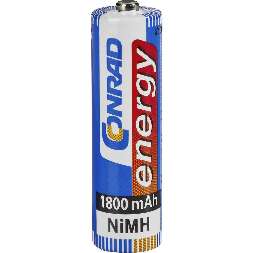 Mignon (AA) akumulator NiMH Conrad energy HR06 1800 mAh 1.2 V 1 kos