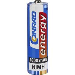 Laddbart batteri R6 (AA) NiMH Conrad energy HR06 1800 mAh 1.2 V 1 st