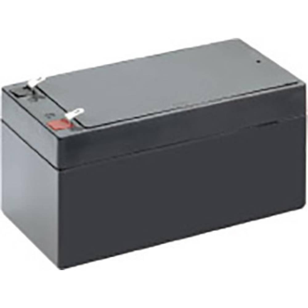 Svinčev akumulator 12 V 3.2 Ah Conrad energy CE12V/3,2Ah 250189 svinčevo-koprenast (AGM) 134 x 61 x 67 mm ploščati vtič 4.8 mm