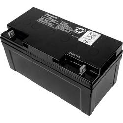 Svinčev akumulator 12 V 65 Ah Panasonic 12 V 65 Ah LC-X1265PG svinčevo-koprenast (AGM) 350 x 175 x 166 mm M6-vijačni priklop