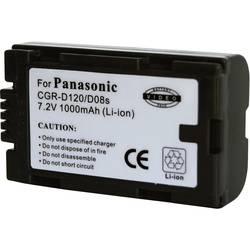 Kamerabatteri Conrad energy Ersättning originalbatteri CGR-D120 7.2 V 900 mAh