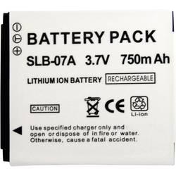 Baterija za kameru Conrad energy 3.7 V 500 mAh zamjenjuje originalnu bateriju SLB-07A