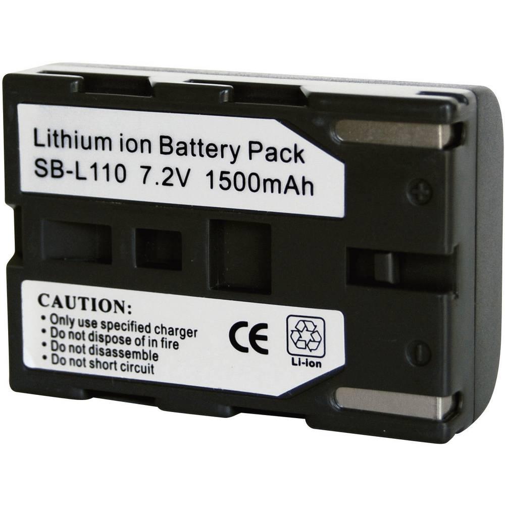 Kamera-batteri Conrad energy Erstatter original-batteri SB-L110 7.3 V 1300 mAh