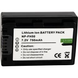 Baterija za kameru Conrad energy 7.2 V 550 mAh zamjenjuje originalnu bateriju NP-FH50