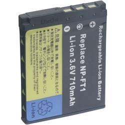 Kamerabatteri Conrad energy Ersättning originalbatteri NP-FT1 3.6 V 710 mAh