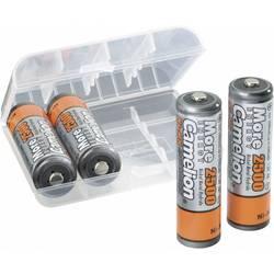 Laddbart batteri R6 (AA) NiMH Camelion HR06 mit Box 2500 mAh 1.2 V 4 st