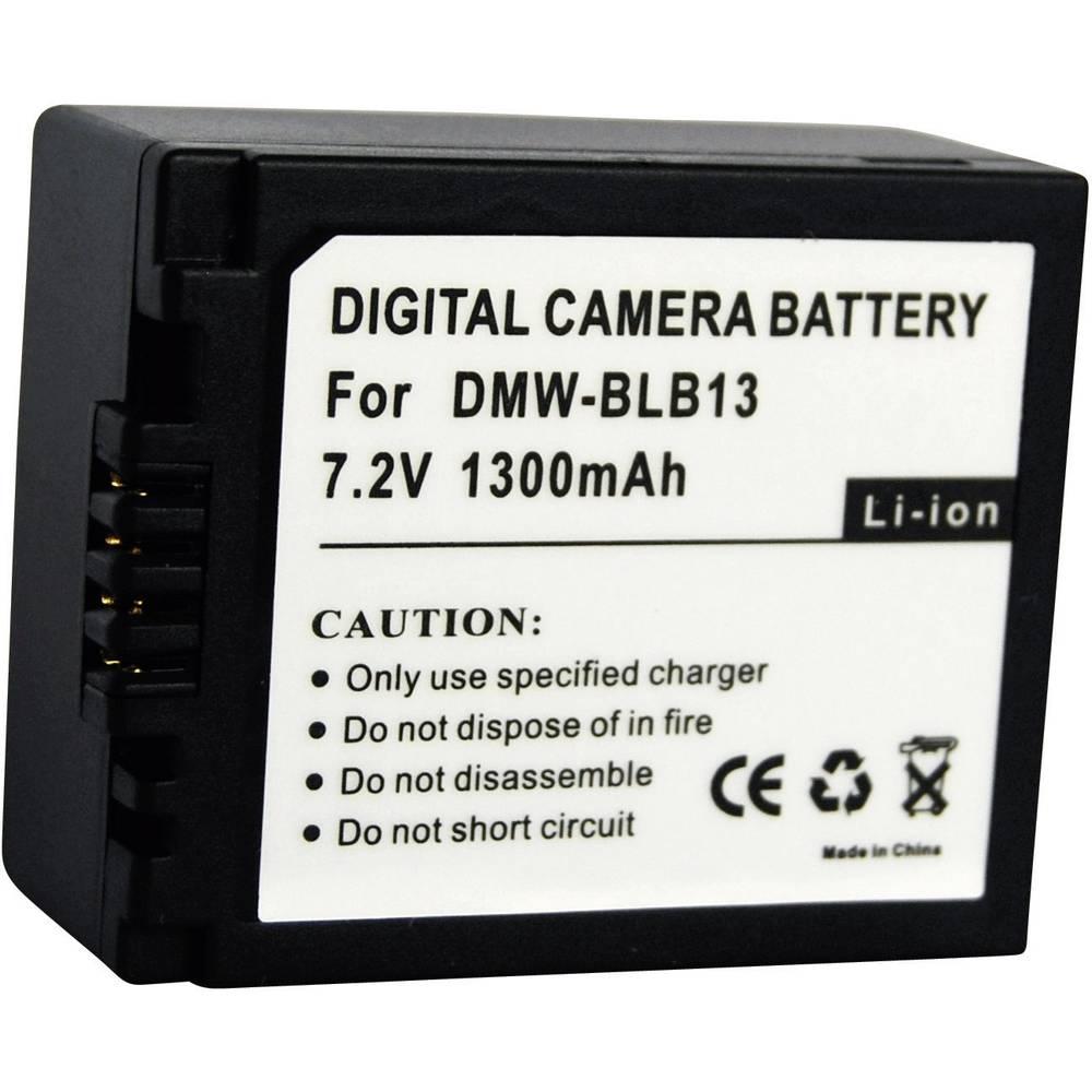 Akumulator za kamero Conrad energy nadomestek za originalni akumulator BLB13 7.2 V 1000 mAh