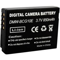 Kamerabatteri Conrad energy Ersättning originalbatteri DMW-BCG10e 3.7 V 700 mAh