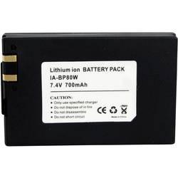 Baterija za kameru Conrad energy 7.4 V 650 mAh zamjenjuje originalnu bateriju BP-80W