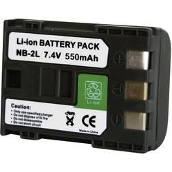 Baterija za kameru Conrad energy 7.2 V 550 mAh zamjenjuje originalnu bateriju NB-2L, NB-2LH