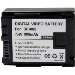 Baterija za kameru Conrad energy 7.4 V 700 mAh zamjenjuje originalnu bateriju BP-808