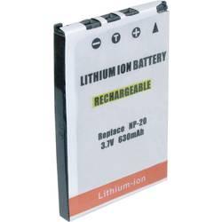 Kamera-batteri Conrad energy Erstatter original-batteri NP-20 3.7 V 550 mAh