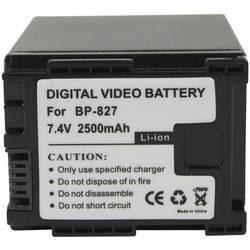 Kamerabatteri Conrad energy Ersättning originalbatteri BP-827 7.4 V 2100 mAh