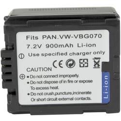 Baterija za kameru Conrad energy 7.2 V 900 mAh zamjenjuje originalnu bateriju VWVBG070