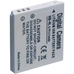 Kamera-batteri Conrad energy Erstatter original-batteri NB-4L 3.7 V 600 mAh