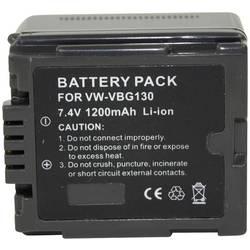 Kamerabatteri Conrad energy VW-VBG130 7.2 V 1000 mAh
