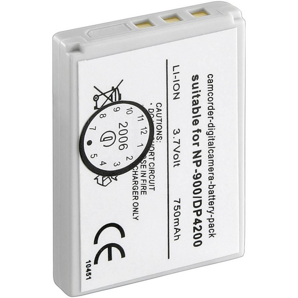 Baterija za kameru Conrad energy 3.7 V 600 mAh zamjenjuje originalnu bateriju NP-900