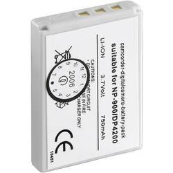 Kamerabatteri Conrad energy Ersättning originalbatteri NP-900 3.7 V 600 mAh