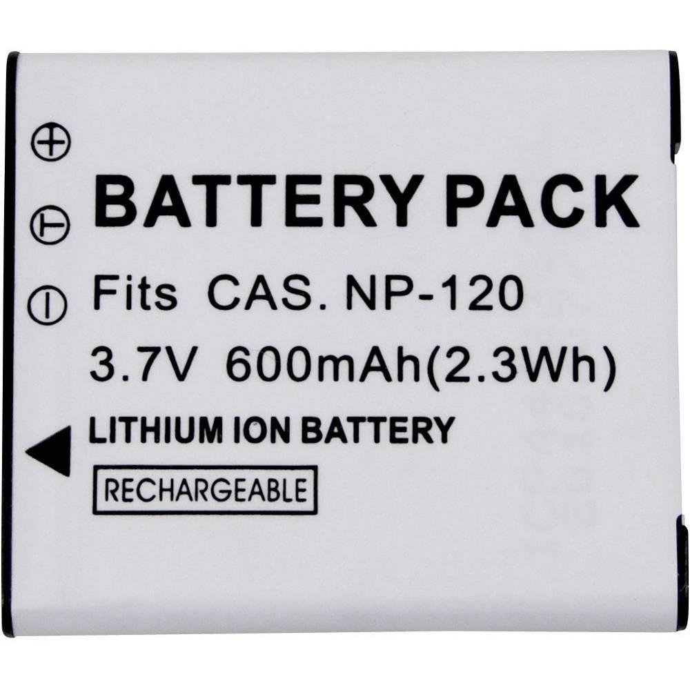 Baterija za kameru Conrad energy 3.7 V 500 mAh zamjenjuje originalnu bateriju NP120