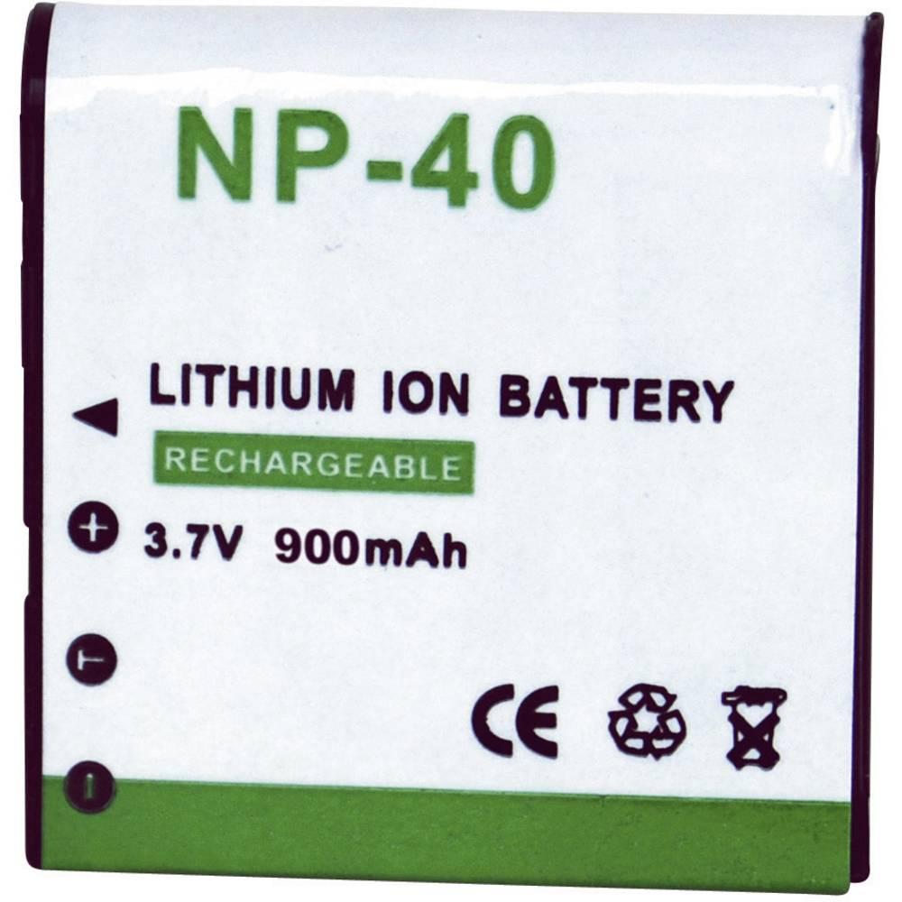 Baterija za kameru Conrad energy 3.7 V 900 mAh zamjenjuje originalnu bateriju NP-40