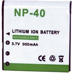 Kamerabatteri Conrad energy Ersättning originalbatteri NP-40 3.7 V 900 mAh