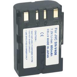 Kamerabatteri Conrad energy Ersättning originalbatteri BN-V408 7.2 V 1100 mAh