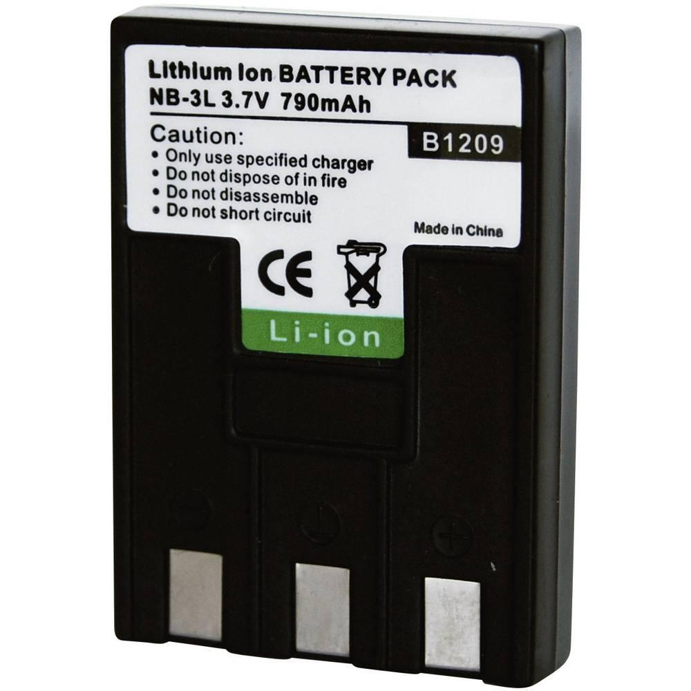 Baterija za kameru Conrad energy 3.7 V 650 mAh zamjenjuje originalnu bateriju NB-3L