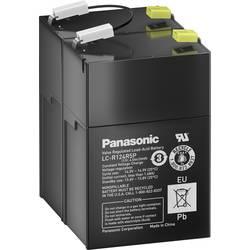 Svinčev akumulator 12 V 4.5 Ah Panasonic 12 V 4, 5 Ah LC-R124R5PD svinčevo-koprenast (AGM) 70 x 102 x 97 mm ploščati vtič 4.8 mm