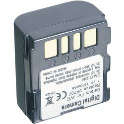Kamerabatteri Conrad energy Ersättning originalbatteri BN-VF707 7.2 V 700 mAh