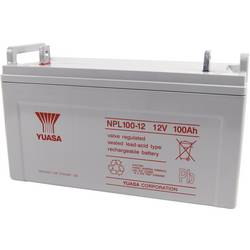 Yuasa svinčeni akumulator NPL100 - 12 12 V 100 Ah M10 (D x Š x V) 407 x 240 x 172 mm