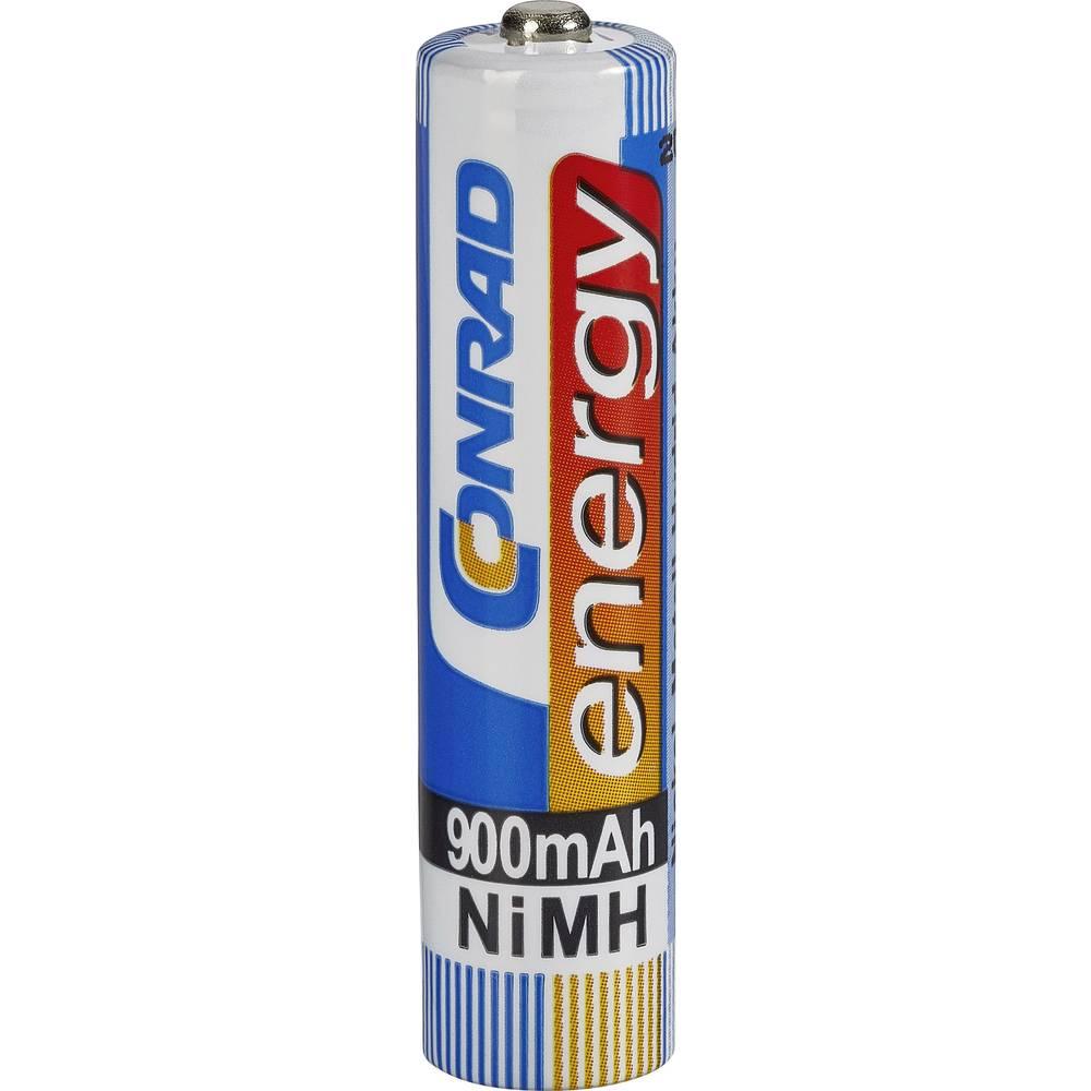 Mikro (AAA) baterija na punjenje NiMH Conrad energy HR03 900 mAh 1.2 V 1 kom.