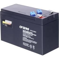 Svinčev akumulator 12 V 9 Ah Conrad energy CE12V/9Ah 250915 svinčevo-koprenast (AGM) 151 x 94 x 65 mm ploščati vtič 6.35 mm