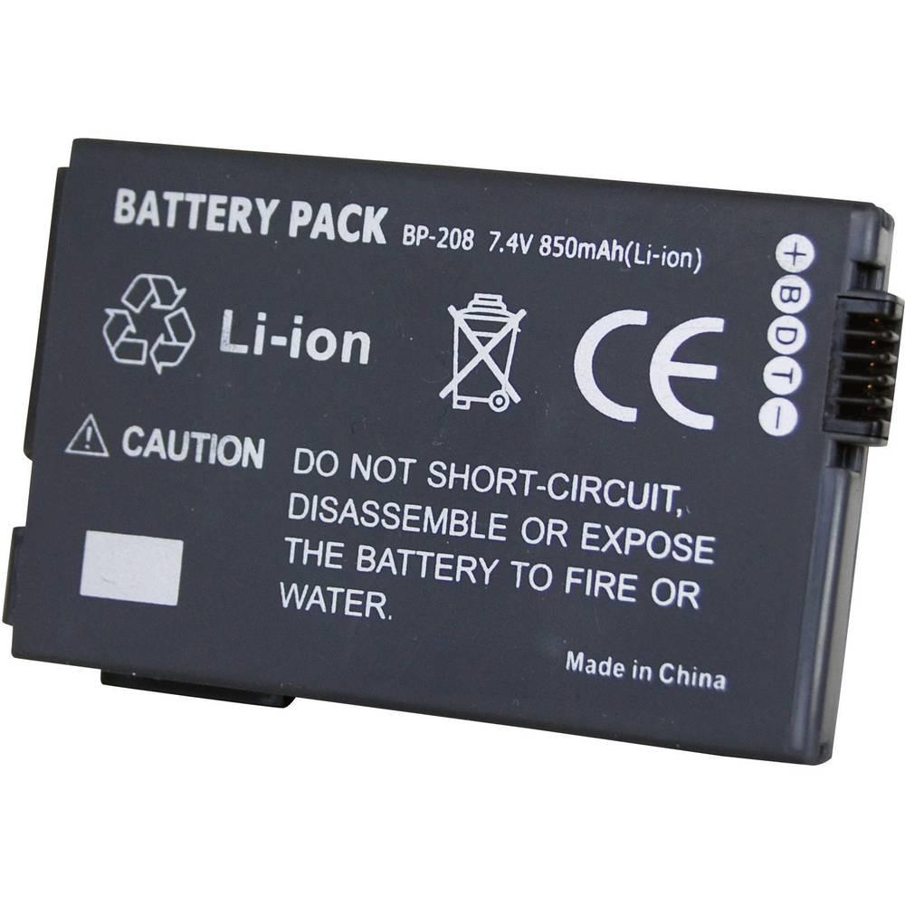 Baterija za kameru Conrad energy 7.4 V 700 mAh zamjenjuje originalnu bateriju BP-208