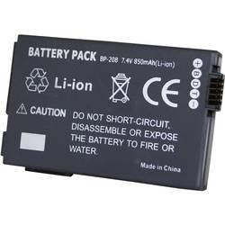Kamera-batteri Conrad energy Erstatter original-batteri BP-208 7.4 V 700 mAh