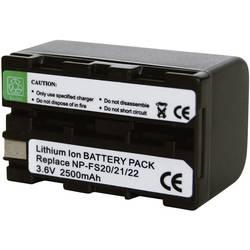 Kamerabatteri Conrad energy Ersättning originalbatteri NP-FS20, NP-FS21 3.6 V 2200 mAh