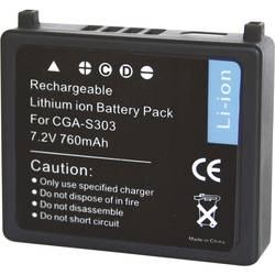 Kamera-batteri Conrad energy Erstatter original-batteri CGA-S303, VW-VBE10 7.2 V 700 mAh