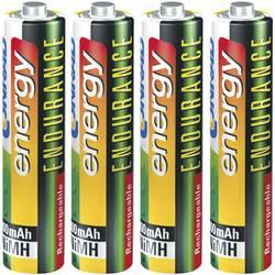 Micro (AAA) akumulator NiMH Conrad energy Endurance HR03 800 mAh 1.2 V 4 kosi