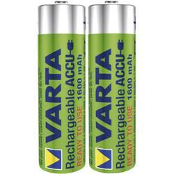 Laddbart batteri R6 (AA) NiMH Varta Ready2Use HR06 1600 mAh 1.2 V 2 st