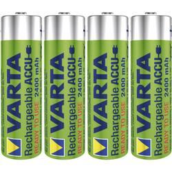 Laddbart batteri R6 (AA) NiMH Varta Ready2Use HR06 2400 mAh 1.2 V 4 st