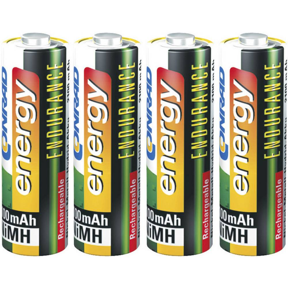Mignon (AA) akumulator NiMH Conrad energy Endurance HR06 2300 mAh 1.2 V 4 kosi