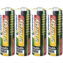 Laddbart batteri R6 (AA) NiMH Conrad energy Endurance HR06 2300 mAh 1.2 V 4 st