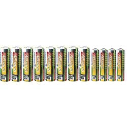 Conrad energy Batterisæt Mikro, AA 12 stk