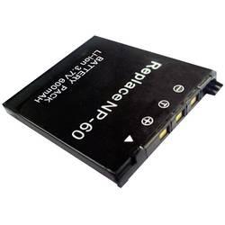 Kamerabatteri Conrad energy Ersättning originalbatteri NP-60 3.7 V 500 mAh