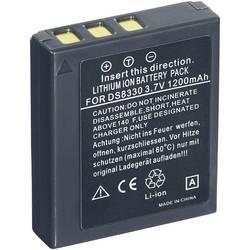 Kamerabatteri Conrad energy Ersättning originalbatteri DC-8300, VW-VBE10 3.7 V 1000 mAh