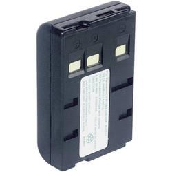Kamera-batteri Conrad energy Erstatter original-batteri P-V211, P-V22, VW-VBS10E, VW-VBS20E 4.8 V 1800 mAh