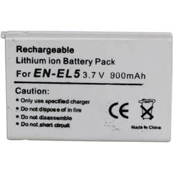 Kamera-batteri Conrad energy Erstatter original-batteri EN-EL5 3.7 V 900 mAh