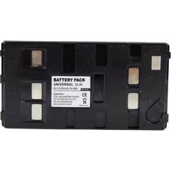 Kamerabatteri Conrad energy Ersättning originalbatteri Uni-Pan 6 V 1800 mAh
